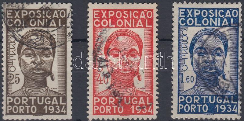 Colonial exhibition set, Gyarmati kiállítás sor