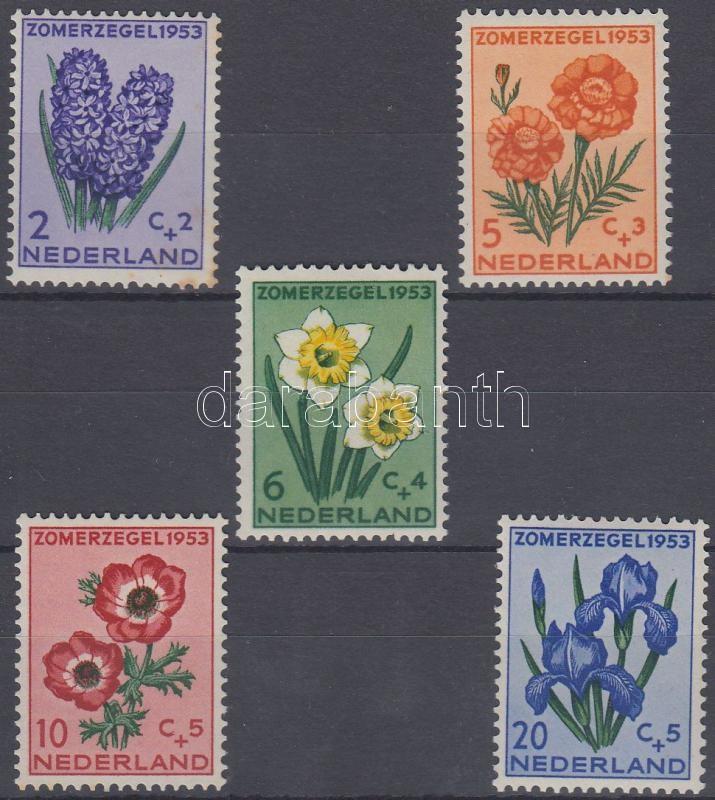 Virágok (II) sor, Flowers (II) set