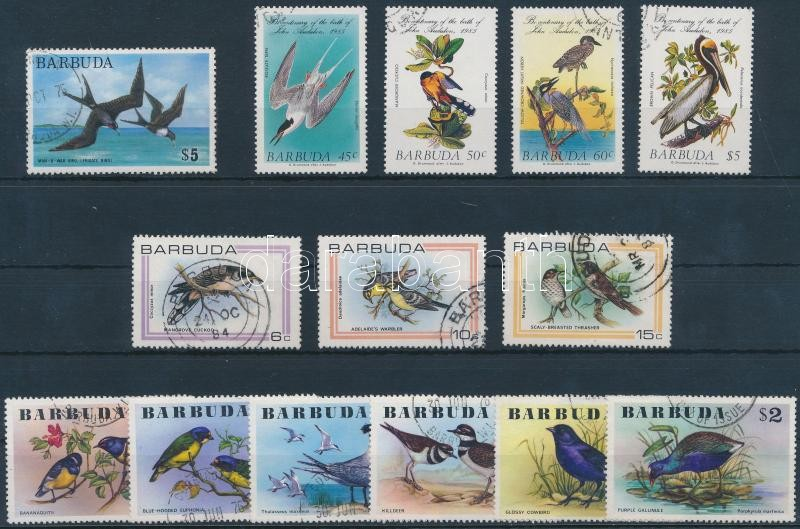1976-1985 14 stamps with sets, 1976-1985 14 db bélyeg, közte teljes sorok