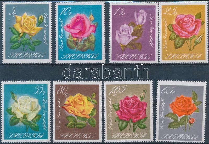 Roses set, Rózsa sor