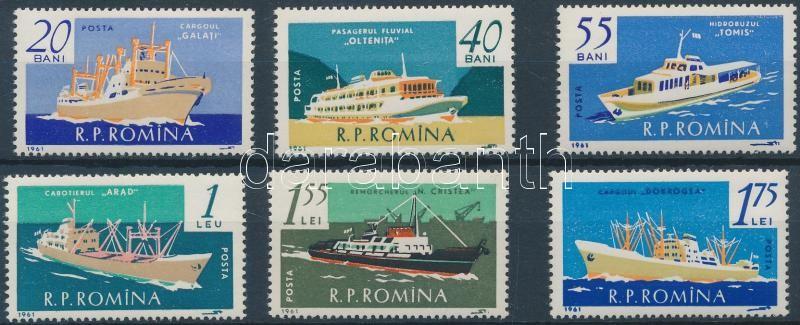 Ships set, Hajó sor