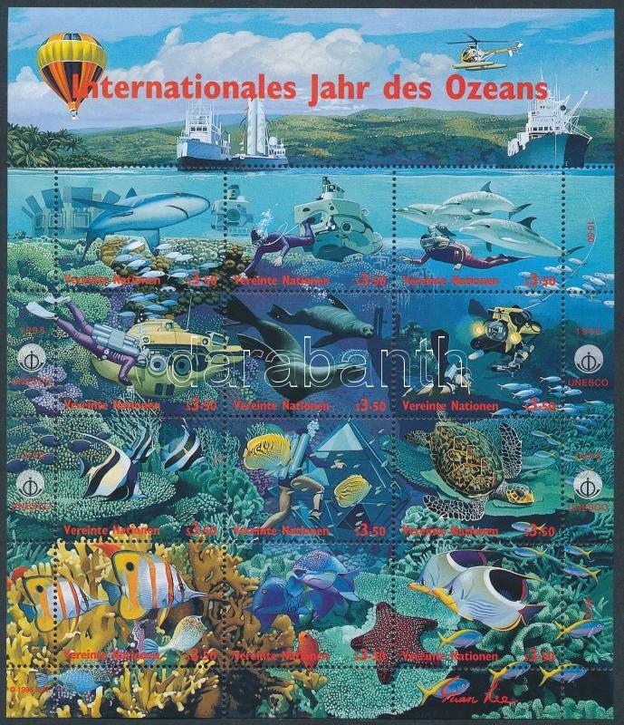 International year of ocean minisheet, Az óceán nemzetközi éve kisív