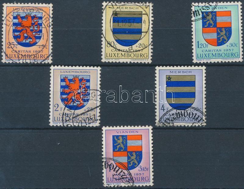 Caritas: Címer sor, Caritas: Coat of arms set