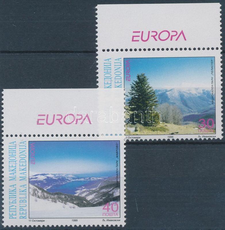 Europa CEPT National Parks margin set, Europa CEPT nemzeti parkok ívszéli sor