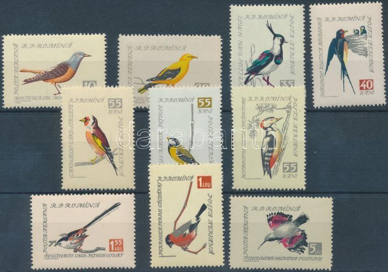 Énekes madarak sor, Songbirds set