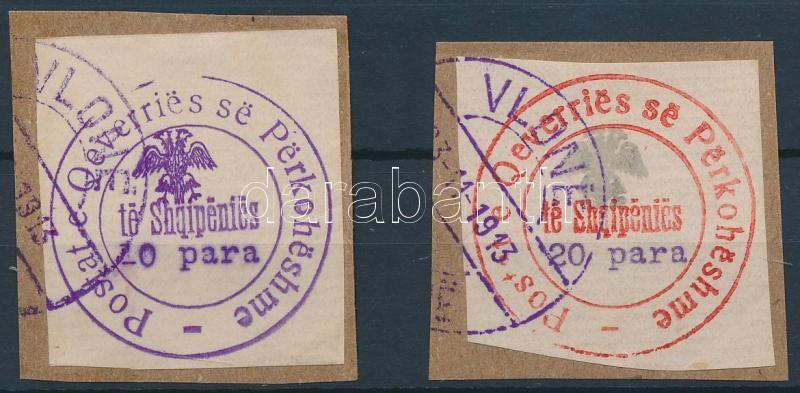 Official stamps, Hivatalos bélyeg 2é kivágáson