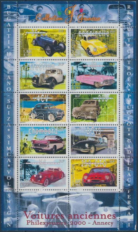 PHILEXJEUNESSE international youth stamp exhibition mini sheet, PHILEXJEUNESSE nemzetközi ifjúsági bélyegkiállítás kisív