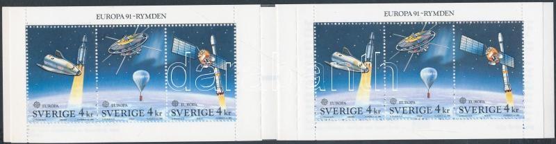 Europa CEPT, Space Reserch stamp-booklet, Europa CEPT, Űrkutatás Bélyegfüzet