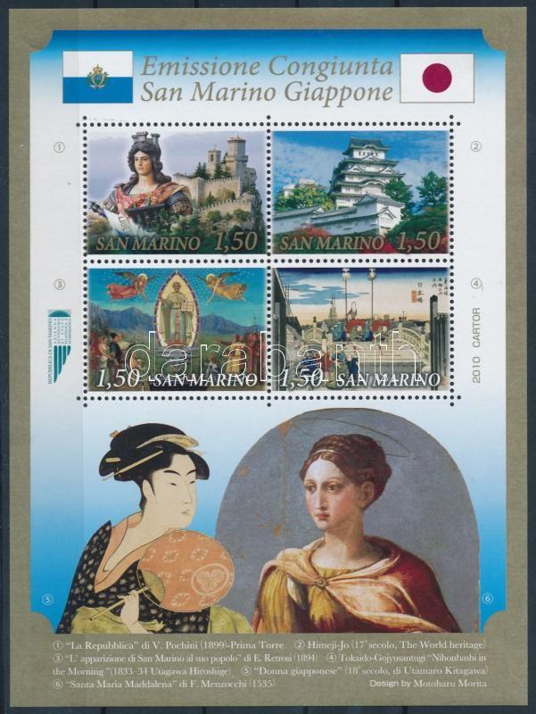 San Marino Community Edition - Japan block, Közösségi kiadás San Marino - Japán blokk