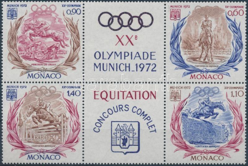 Summer Olympics block of 4, Nyári olimpia négyestömb