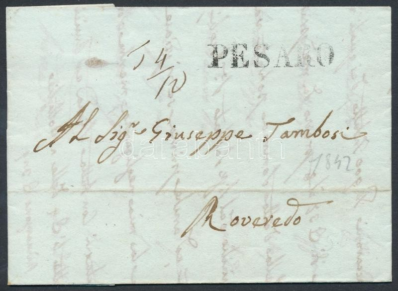 Letter with postage due