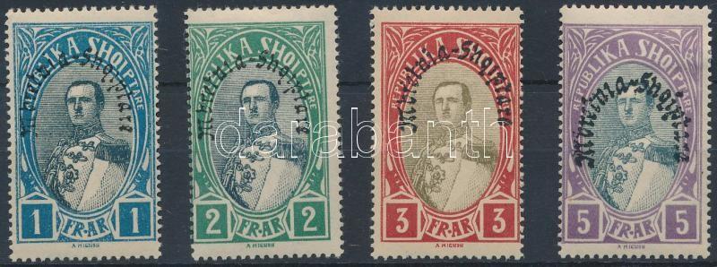Definitive closing stamps, Forgalmi záróértékek