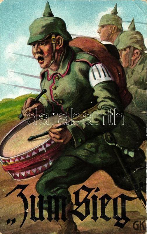 Zum Sieg / German military propaganda s: GK, Német katonai propaganda s: GK
