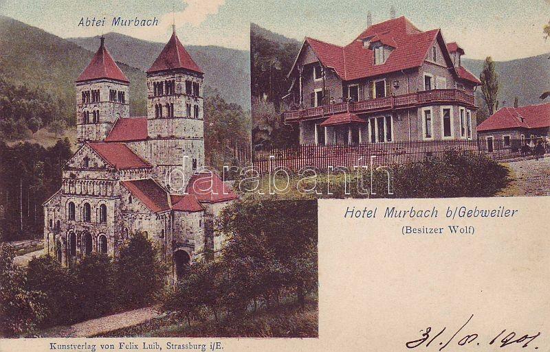 Murbach, Murbach Abbey, Hotel Murbach