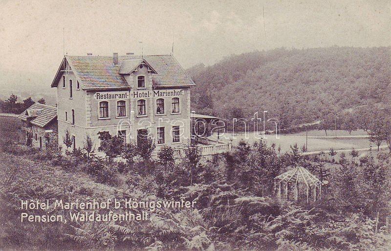 Königswinter, Hotel and Restaurant Marienhof
