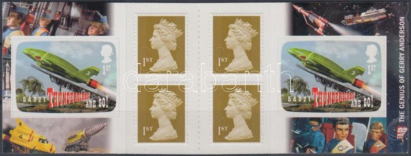 Science fiction self-adhesive stamp-booklet, Science fiction öntapadós bélyegfüzet