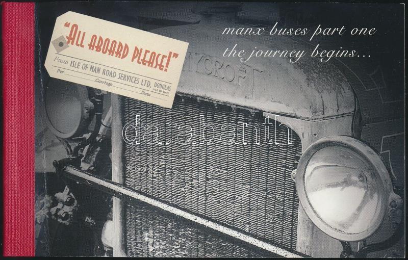 Omnibus stamp-booklet, Omnibuszok bélyegfüzet