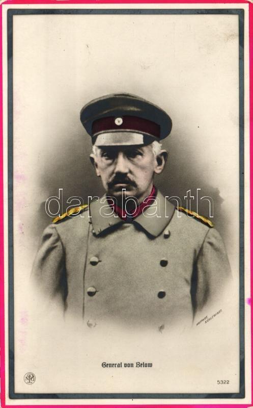 General von Below, Hofphot. Kühlewindt, Otto von Below német tábornok