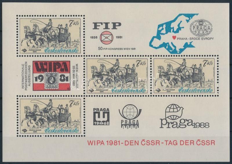 WIPA International Stamp Exhibition block, WIPA nemzetközi bélyegkiállítás blokk