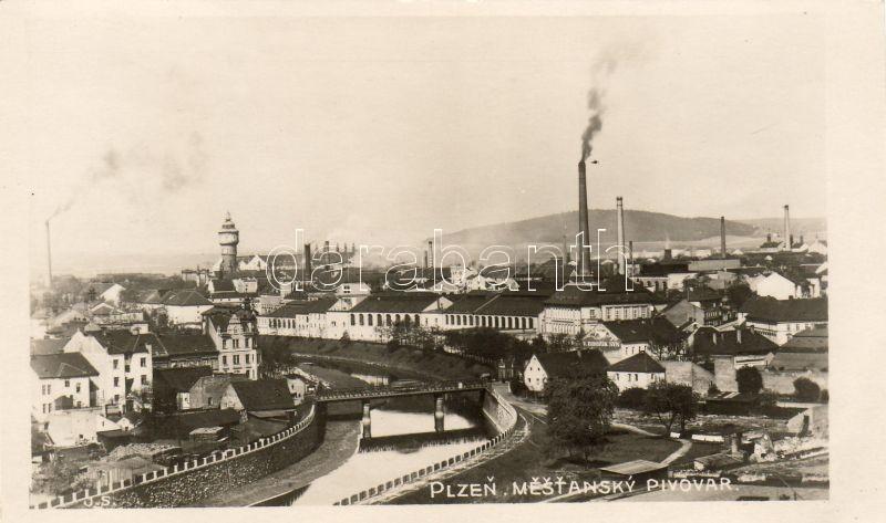 Pilsen, Plzen; Mestansky Pivovar / Brewery