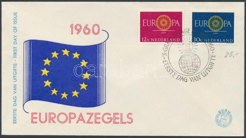 Europa CEPT set on FDC, Europa CEPT sor FDC-n