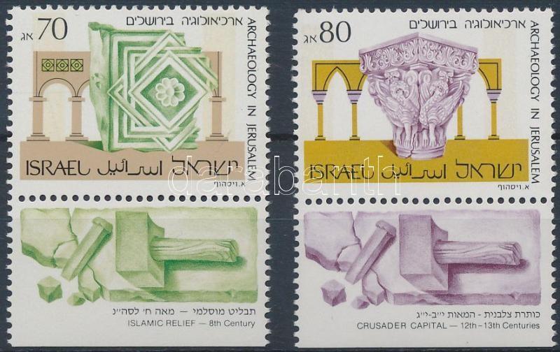 Definitive: archeology in Jerusalem set with tab, Forgalmi: régészet Jeruzsálemben tabos sor