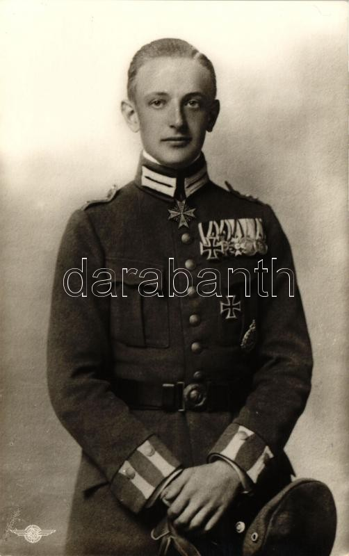 Leutnant Rudolf Windisch, Nationalsozialistisches Fliegerkorps Gruppe 15 / German WWI fighter ace, Rudolf Windisch, I. világháborús német pilóta