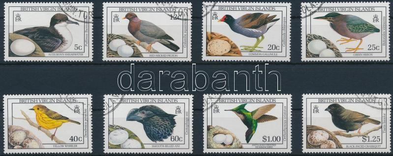 Birds stamps, Madár sor