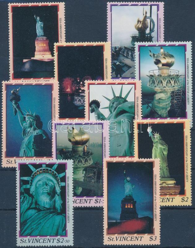 New York Statue of Liberty set, New York-i szabadságszobor sor