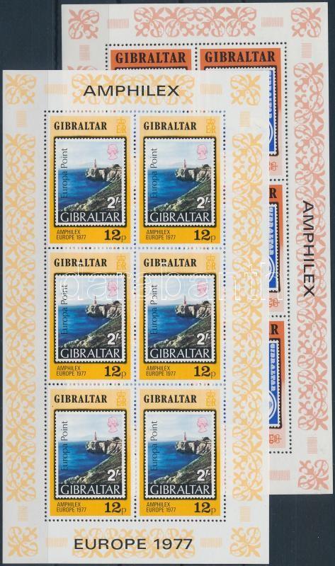 Amphilex stamp exhibition minisheet set, Amphilex bélyegkiállítás kisívsor