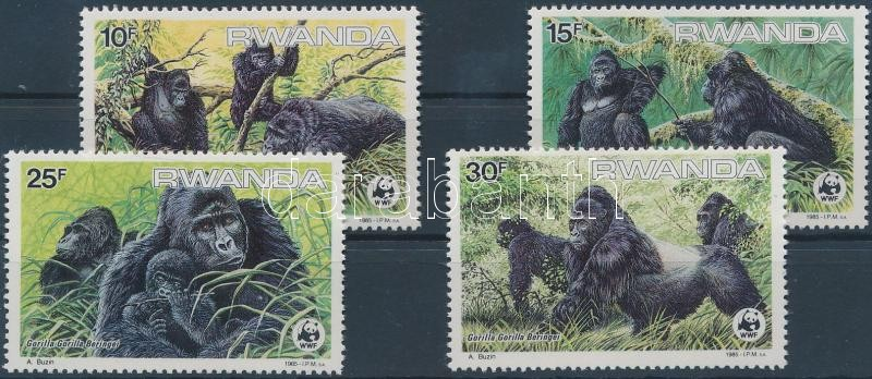 WWF Gorillas set, WWF Gorillák sor