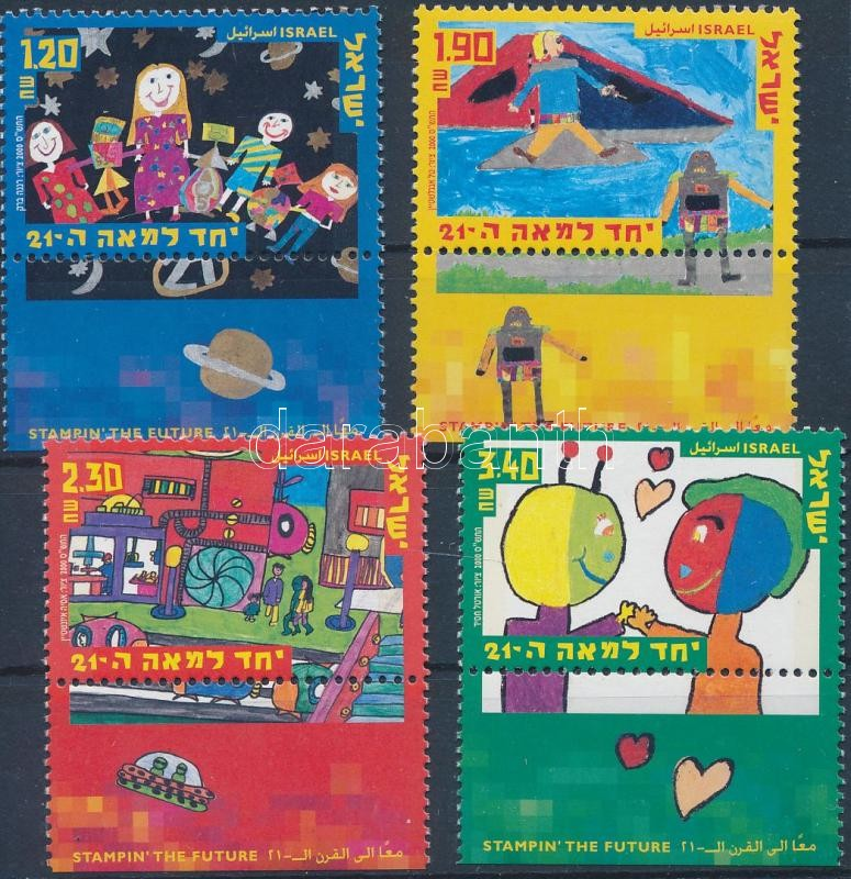 Children's Paintings set with tab, Gyermekfestmények tabos sor