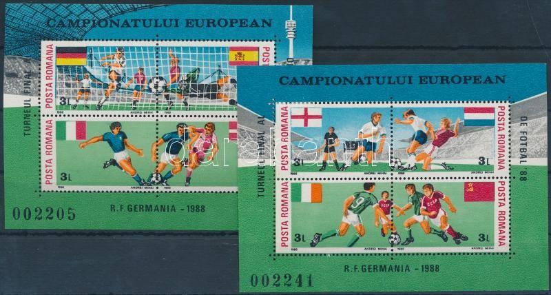 Football Championships block pair, Labdarúgó EB blokkpár