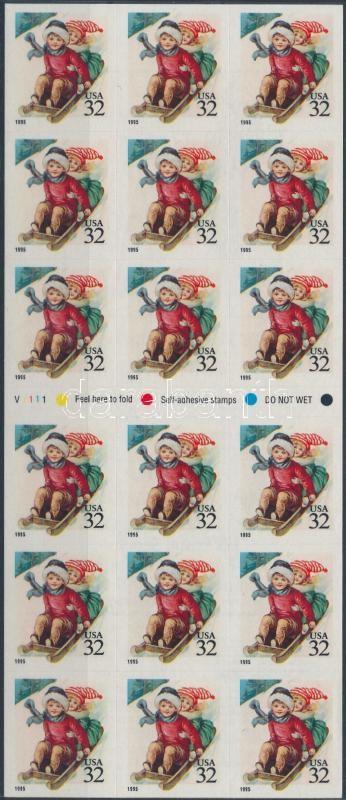 Christmas foil sheet/ATM, Karácsony fólialap/ATM
