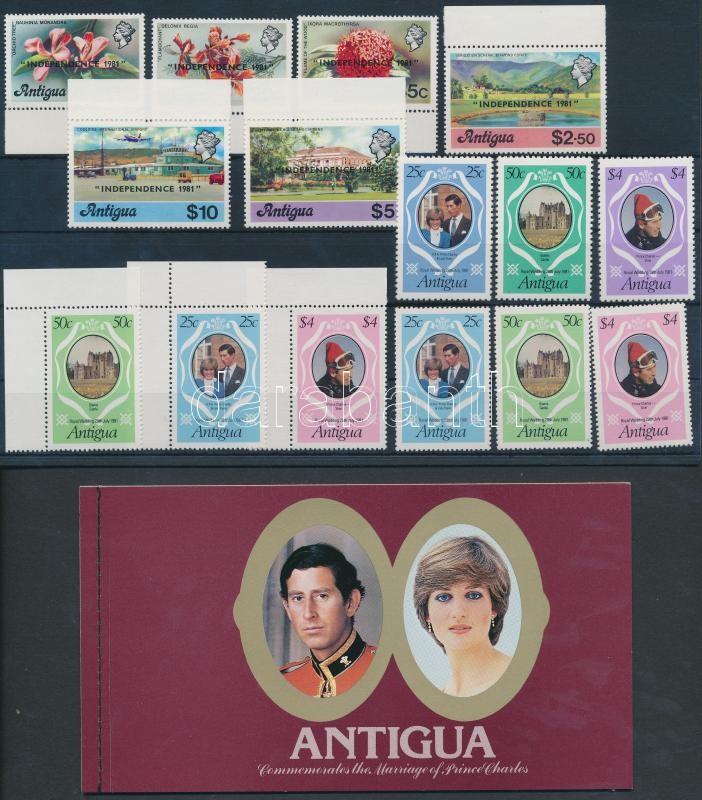 15 stamps + 1 stamp-booklet, 15 db bélyeg + 1 bélyegfüzet