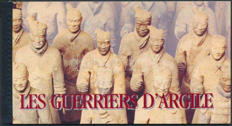 Chinese clay soldiers stamp-booklet, Kínai agyagkatonák bélyegfüzet
