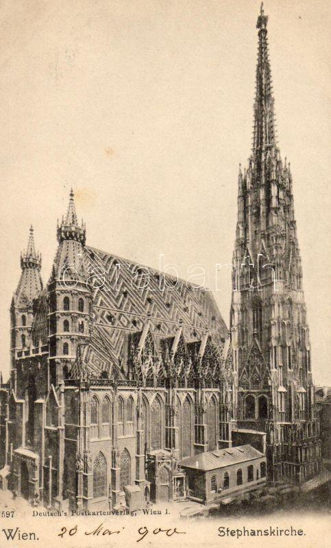 Vienna, Wien I. Stephanskirche / church