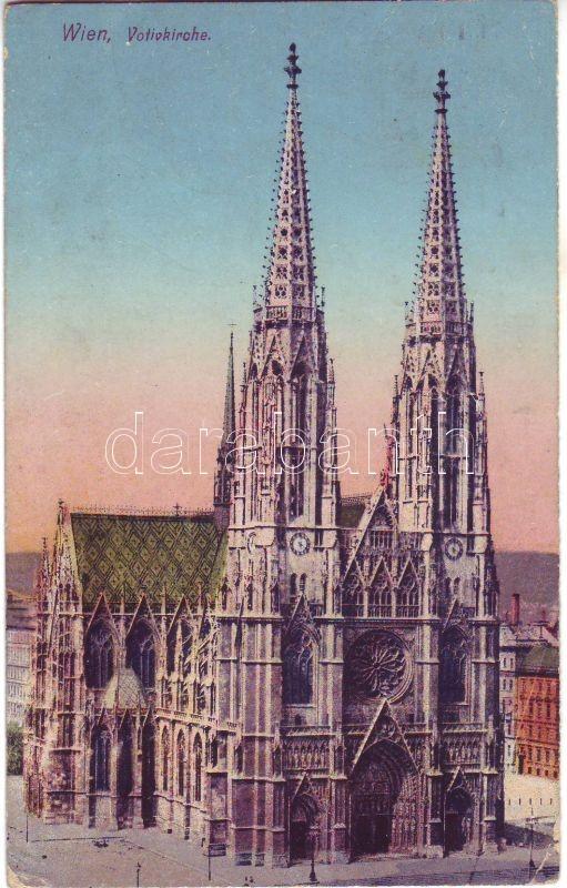 Bécs, Wien; Votickirche / templom, Vienna, Wien; Votickirche / Votive Church
