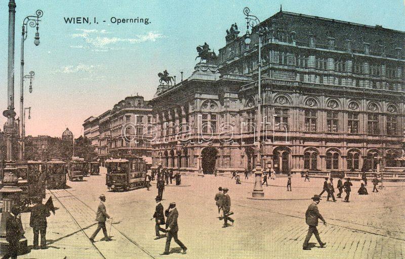 Vienna, Wien I. Opernring, Bécs, Wien I. Opernring