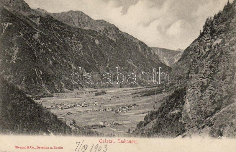 Umhausen, Ötztal valley
