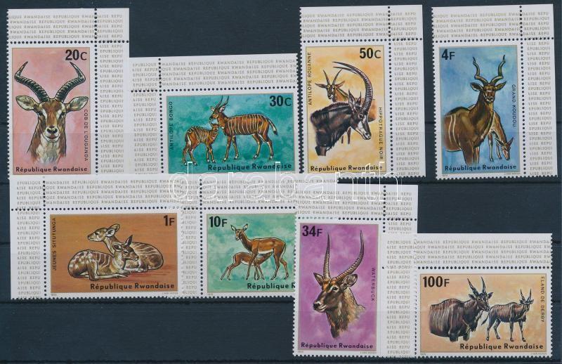 Antelopes corner set, Antilopok ívsarki sor