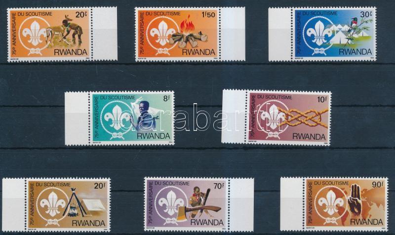 Scouts margin set, Cserkész ívszéli sor