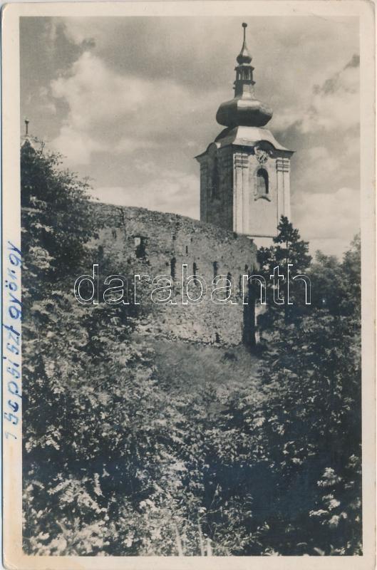 Sepsiszentgyörgy, Református vártemplom, Lapikás Béla kiadása