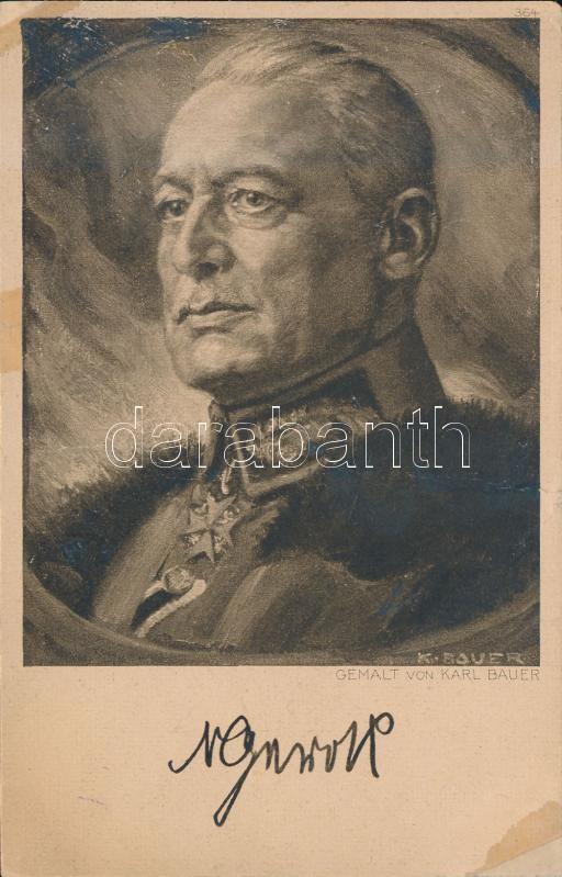 German General, Herausgegeben von der Oftpreussenhilfe 1915. J.F. Lehmanns, Paul Heyle s: Karl Bauer, Német tábornok,  s: Karl Bauer