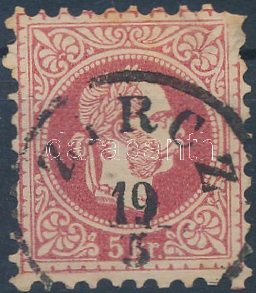 """Austria-Hungary classic postmark """"Z(I)RCZ"""" """"Z(I)RCZ"""""""
