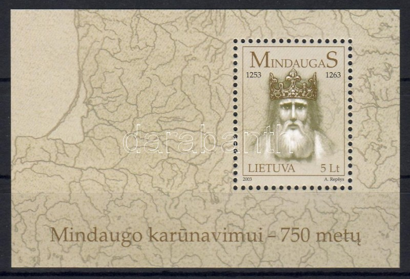King Mindaugas block, Mindaugas király blokk