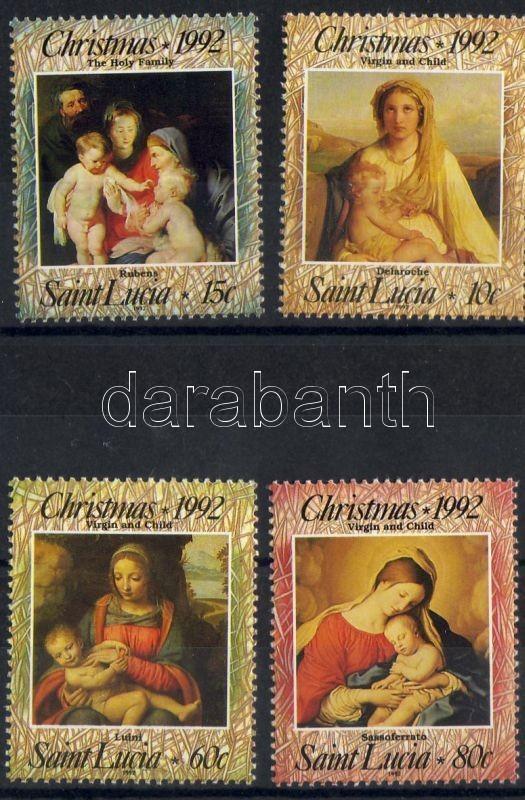 Christmas, Paintings, Karácsony, festmények