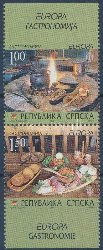 Europa CEPT: gastronomy pair, Europa CEPT: gasztronómia pár