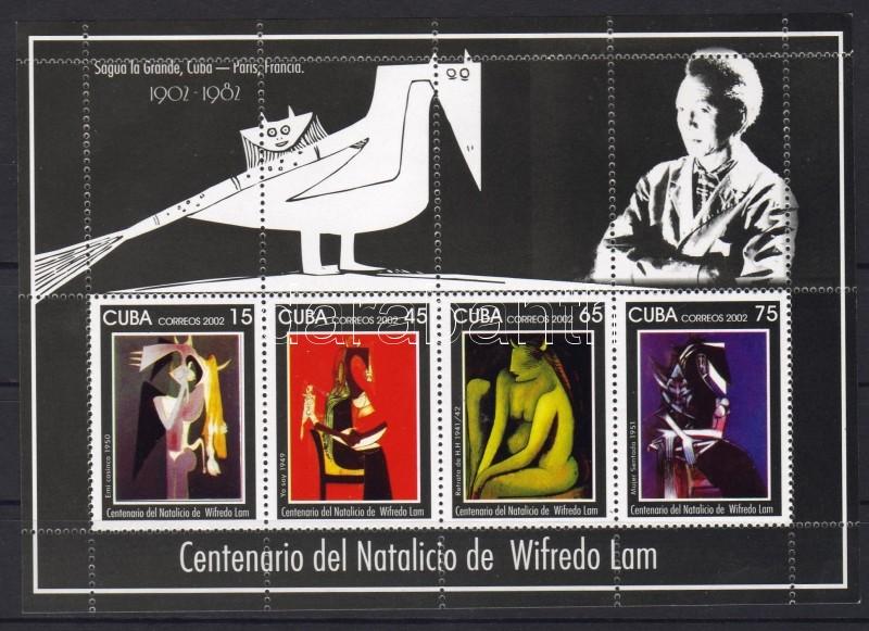 Wilfredo Lam paintings block, Wilfredo Lam festményei blokk