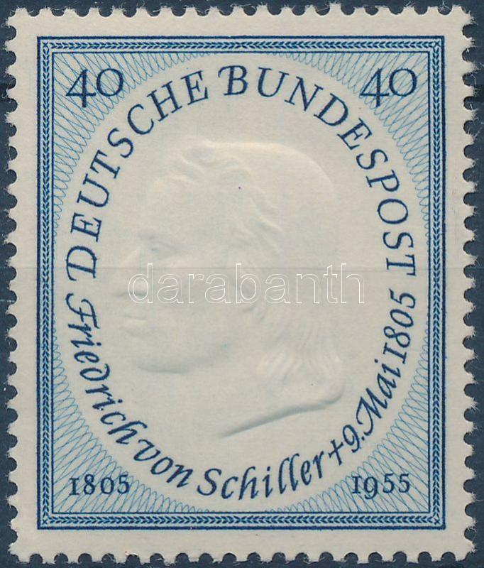 Friedrich von Schiller, Friedrich von Schiller halálának 150. évfordulója